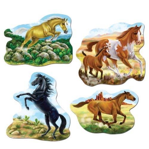Horse Cutouts   (4/Pkg)