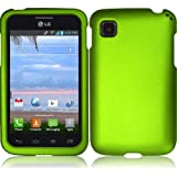 Lite Green Hard Case Cover Premium Protector for LG Optimus Dynamic II LG39C L39C (by Net 10 / Tracfone / Straight... by LG