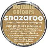 Snazaroo Professional Classic & Metallic Colour Face Paints (Metallic Gold)