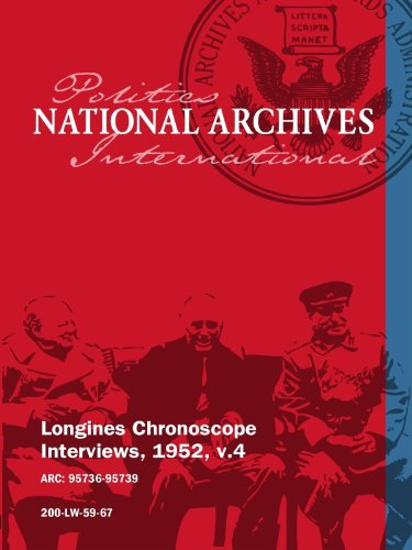 Longines Chronoscope Interviews, 1952, v.4: ARTHUR S. FLEMMING, DR. LYLE J. HAYDEN movie