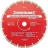 Silverline 589673 Lame diamantée à tronçonner le béton et la pierre 230 x 22,2 mm