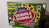 "Dubble Bubble Gumballs 1"" Diameter Variety Pack, 850 Gumballs"