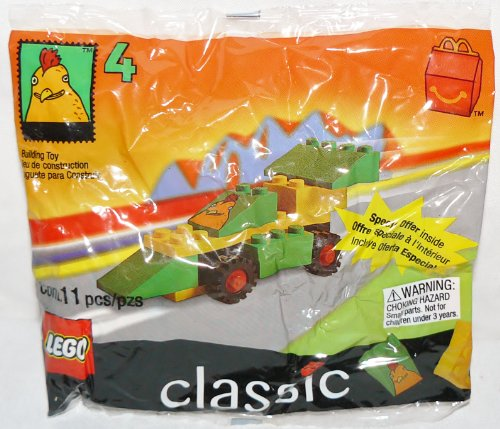51cBI%2BBoh7L Reviews Lego Toy McDonalds CLASSIC Lego Chicken Car #4