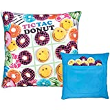 iscream / Tic Tac Donut Game Pillow