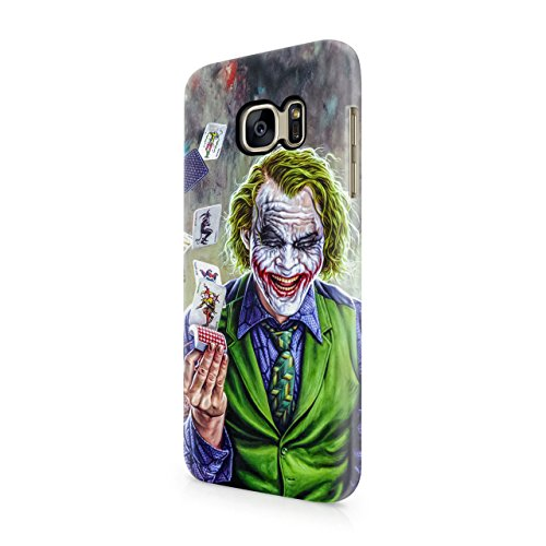 Joker Cards Hard Snap-On Protective Case Cover For Samsung Galaxy S7 (Not Edge)