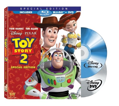Cover art for  Toy Story 2 (Two-Disc Special Edition Blu-ray/DVD Combo w/ Blu-ray Packaging)