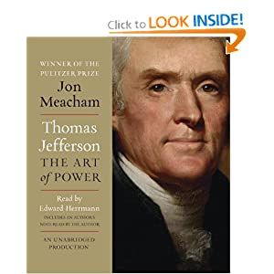 Thomas Jefferson: The Art of Power [Audiobook, Unabridged] [Audio CD]