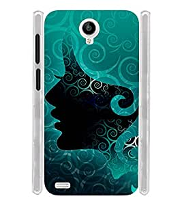 Girl Women Lady Soft Silicon Rubberized Back Case Cover for Vivo Y22