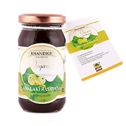 Khandige Organic Certified Amalaki Rasayana - 250g, Rich Source of Natural vitamin C,Immune Modulator