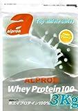 アルプロン トップアスリートシリーズ ホエイプロテイン 100 プレーン 3kg