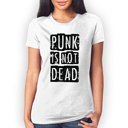 Punk Is Not Dead Uncolored XL Donne T-Shirt