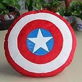 New The Captain America Shield Throw Pillow Plush Decor