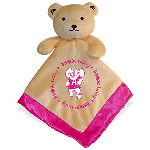 Baby Fanatic Security Bear - University of Alabama Pink