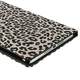 i-Beans高品質!!【全3色】iPad mini用PUレザーケース ヒョウ、豹柄 オフホワイト アップル アイパッド ミニ スタンドケース オートスリープ機能付 PU Leather Case for iPad mini 保護フィルム付(4296-2)