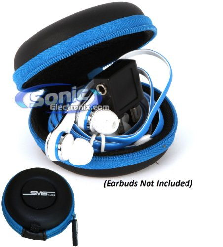 Sms Audio Universal Portable Protective Earbud Carrying Case For In-Ear Headphones (Sms-Eb-Case)
