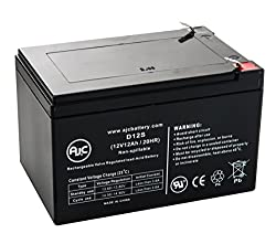 WKA12-12F2 12V 12Ah UPS Battery - This is an AJC Brand Replacement