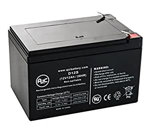 Interstate DCM0012 12V 12Ah Wheelchair Battery - This is an AJC Brand® Replacement