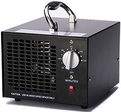 Commercial Ozone Generator 3500mg Industrial O3 Air Purifier Black Deodorizer Sterilizer