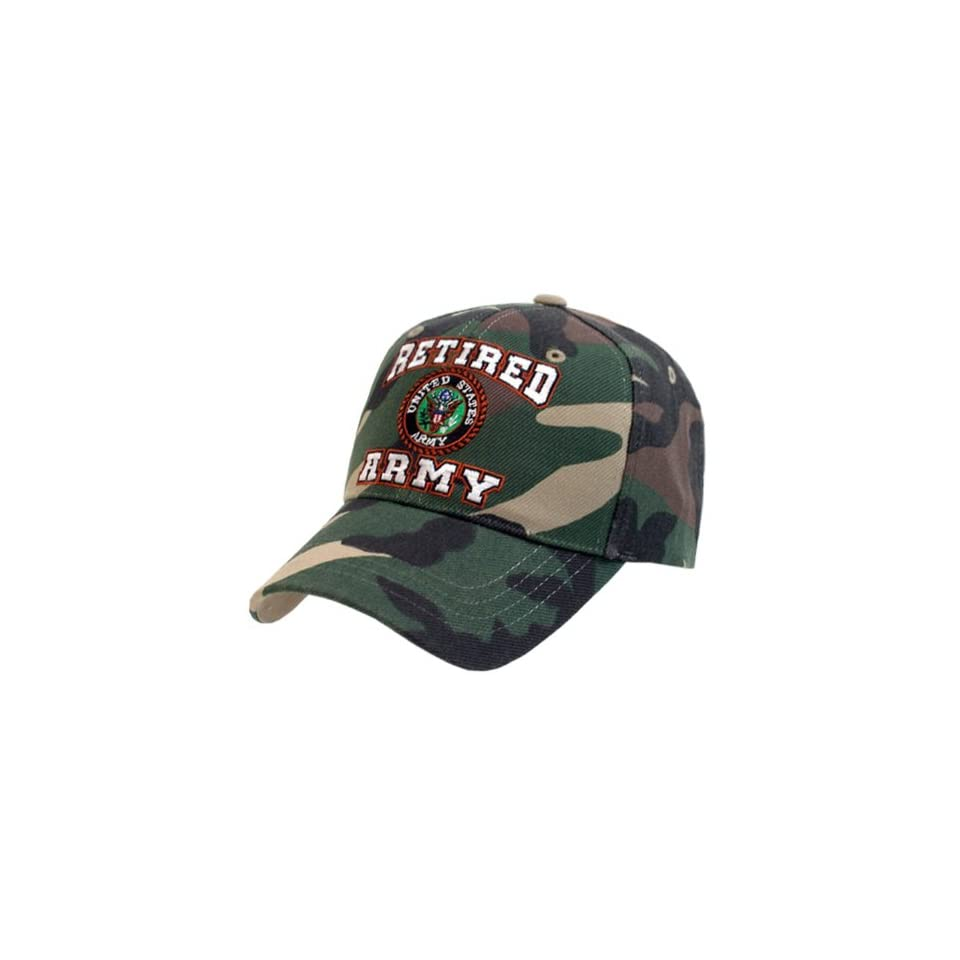 US Army Camo Retired Military Baseball Caps Everything