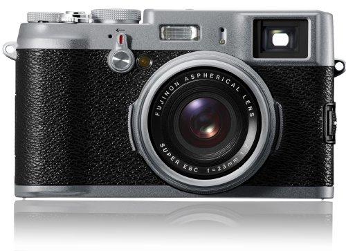 FUJIFILMデジタルカメラ FinePix X100  F FX-X100 1230万画素 APS-CサイズCMOS フジノン23mm F2レンズ ハイブリッドビューファインダー 2.8型液晶