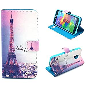 S5,S5 Case,S5 Cases,Kaseberry Luxury Design Wallet leather Case with Stand for Samsung Galaxy S5 0008#