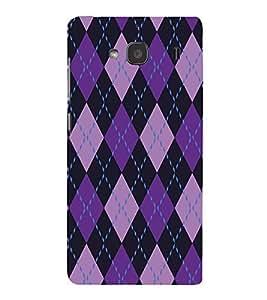 EPICCASE diamonds Mobile Back Case Cover For Mi Redmi 2 Prime (Designer Case)
