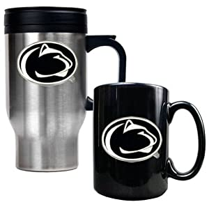 Great American Products Penn State Nittany Lions Stainless Steel Travel Mug &... by Great American Products