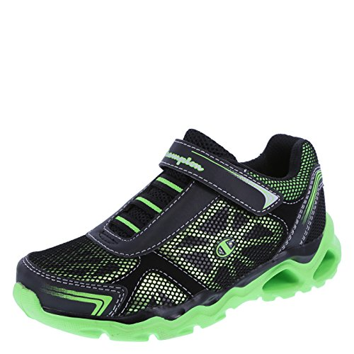 Champion Boys' Black Lime Boys' Cannon Runner 13 Regular (Champion Kids Shoes compare prices)