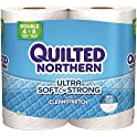 Georgia-Pacific 96361 Quilted Northern Soft and Strong Bathroom Tissue, 2 Ply, 4-Rolls (Case of 12)