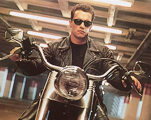 Arnold Schwarzenegger in Terminator 2: Judgement Day