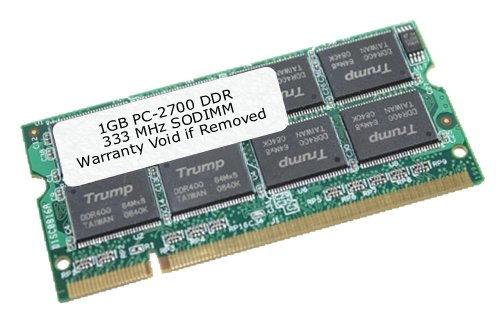 EDGE Tech 1GB DDR SDRAM 333MHz DDR333//PC2700 For Apple Ibook PowerBook