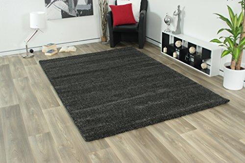 Designer Teppich Soma 181 Anthrazit