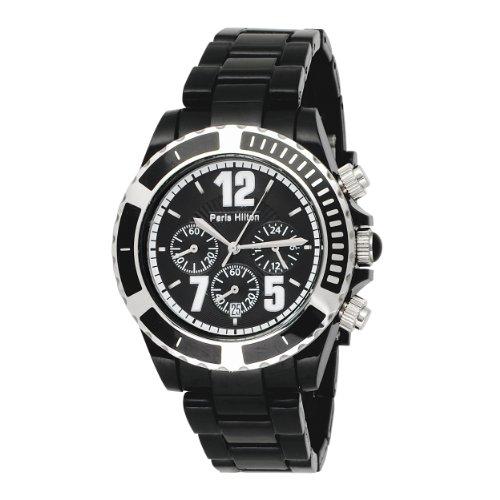 Paris Hilton Women's 138.4321.99 Chronograph Black Dial Watch