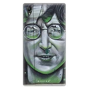 Mozine John Lennon Printed Mobile Back Cover For Sony Xperia Z3