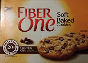 Fiber One Soft Baked Cookies, Chocolate Chip 24 Count
