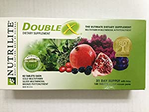 Nutrilite® Double X® Vitamin/ Mineral/ Phytonutrient - 31-day Supply/with Case