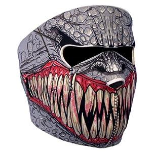 """Cagoule Masque Protection Neoprene """"Demon"""" - Taille unique réglable - Airsoft - Paintball - Outdoor - Ski - Snow - Surf - Moto - Biker - Quad"""