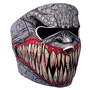 "Cagoule Masque Protection Neoprene ""Demon"" - Taille unique réglable - Airsoft - Paintball - Outdoor - Ski - Snow - Surf - Moto - Biker - Quad"