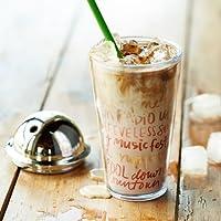 Starbucks スターバックス 北米 夏 限定 フラペチーノ コールド カップ タンブラー / ドーム 型 リッド 付き 二重 構造 / グランデ サイズ 16 オンス 正規品 (並行輸入品)
