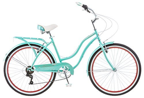 Schwinn-26-Ladies-Perla-7-Speed-Cruiser-Bike-26-Inch-Blue