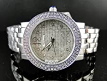 New Ladies Jpjo/Jojino/Joe Rodeo Silver Metal Genuine Real Diamond Watch MJ-1046C