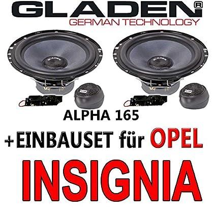Opel insignia gladen 165-aLPHA - 16 cm-système composite avec