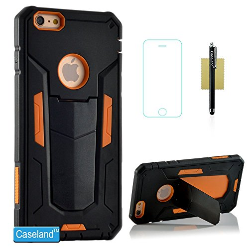 iPhone 6S Plus Case,iPhone 6 Plus Case,CASELAND Hybrid Armor Protective Case Shock-absorption Defender Kickstand Case for Apple iPhone 6S Plus/iPhone 6 Plus [5.5] - Orange PDF Download Free