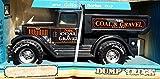 NYLINT CLASSICS: BLACK COAL & GRAVEL Construction DUMP TRUCK - Pressed Steel Construction - MINT IN BOX