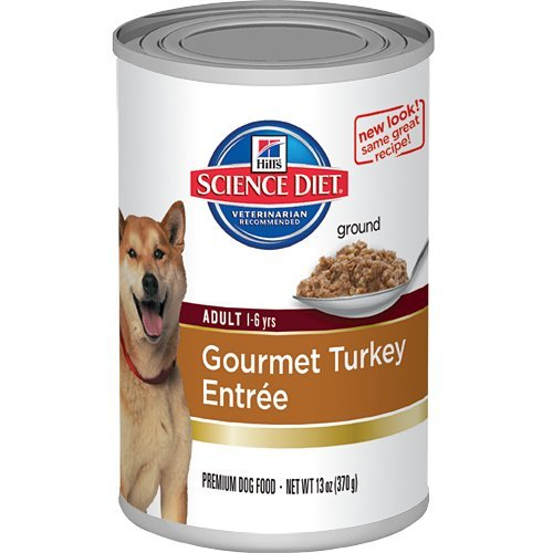 Hill'S Science Diet Adult Advanced Fitness Gourmet Turkey Entree Dog Food, 13-Ounce Can, 12-Pack