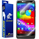 ArmorSuit MilitaryShield - Motorola Luge / Motorola Droid RAZR M Screen Protector Anti-Bubble Ultra HD - Extreme Clarity & Touch Responsive Shield with Lifetime Free Replacements