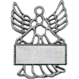 Angel Pewter Finish Ornament