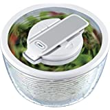 Zyliss Smart Touch Salad Spinner, White