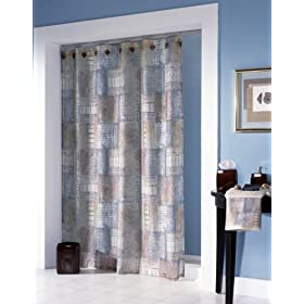 Croscill Minerale Multi-Color Shower Curtain
