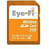 Eye-Fi Share 2 GB Wi-Fi SD Flash Memory Card EYE-FI-2GB (OLD VERSION) ~ Eye-Fi